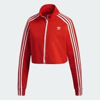 Women's adidas Cropped Track Jacket Red [z] DH2726