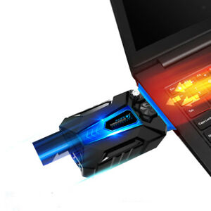 Portable Notebook Laptop Fan Cooler Cooling Adjustable  for Gaming