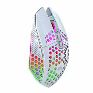 USB Gaming Mouse Wireless Rechargeable 8 Keys RGB LED Mouse For Laptop PC