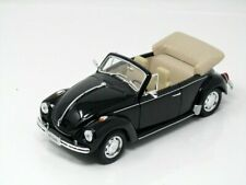 Welly 1/24 ,VW Beetle Cabriolet 1959 , Black, Classic Metal Model Car
