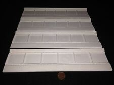 WP118 (Qty4) Classic Lower Wall Panel Plaster RepliCast Miniatures - Dolls House