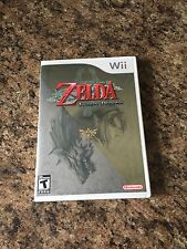 The Legend of Zelda: Twilight Princess Nintendo Wii Cib Complete W1