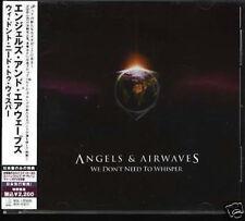 ANGELS & AIRWAVES-We Don't Need To Whisper Japan CD w/OBI