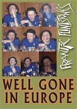 FRANTIC FLINTSTONES - Well Gone In Europe DVD - New - Psychobilly Rockabilly