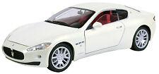 PolycyberUSA MotorMax Maserati Granturismo 1:18 White-79151