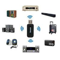 3.5Mm Aux Usb Wireless Bluetooth Stereo Audio Auto Musik HOT Adapter F3G4