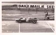 RACE OF CHAMPIONS 1965 F1 JACK BRABHAM CLIMAX BT11 PHOTOGRAPH FOTO