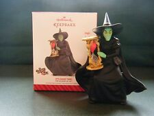 "Wicked Witch of the West ""IT'S SHOE TIME""  Hallmark Keepsake Ornament"