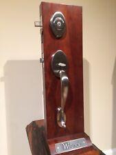 Silver Front Door Entry Handleset by Weslock / Showroom Display