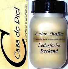 CDP NAPPALEDER Lederfarbe Glattleder Leder färben 1ltr -1000ml - Creme