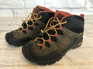 Keen Pagosa Mid Boys Size 2 Waterproof Youth Hiking Boots Shoes 1011745 e2f