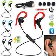 Wireless Bluetooth Earphones Headphones Running Sport Earbuds For iPhone Samsung