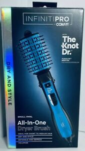 (1) CONAIR InfinitiPRO with The Knot Dr. All-In-One Hair Dryer Brush New/Sealed!
