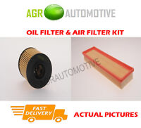 PETROL SERVICE KIT OIL AIR FILTER FOR CITROEN C3 1.1 60 BHP 2002-09