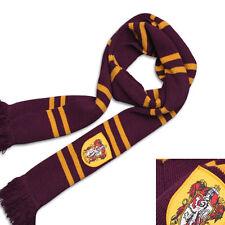 Harry Potter Gryffindor Thicken Scarf Fashion Soft Warm Costume Cosplay Red Gift