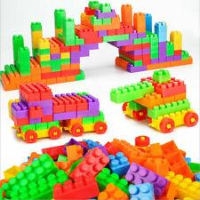 100PCS x Building Blocks Kids DIY Toys Educational Toy Bricks Figure Gift US