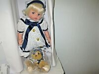 Paradise Galleries Chelsea Sailor Baby Doll Retired Display Doll