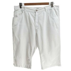Jeanswest Ladies White Capri Shorts Size 16 Casual