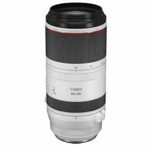 New Canon RF 100-500mm f/4.5-7.1 L IS USM Zoom