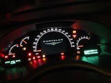 2007 2008 chrysler pacifica speedometer cluster w/ navigation & back up camera