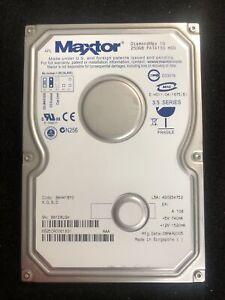 "Maxtor DiamondMax 10 250GB 3.5"" IDE PATA133 HDD BAH41BYO PC Hard Drive"