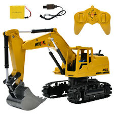 2.4G wireless remote control excavator charging alloy toys