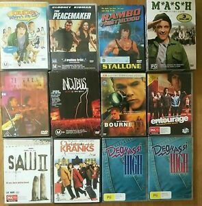 DVD's Variety of Movies TV Titles Shows Music Concert