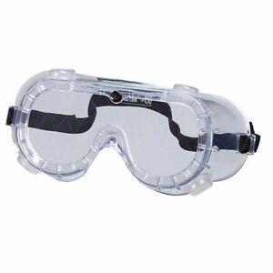10 Stück Schutzbrille Vollsichtbrille Augenschutzbrille Arbeitsschutzbrille EN
