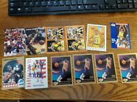 Magic Johnson  17 Card Lot Fleer Skybox Hoops Usa G,vg,nm