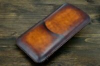 Leather Sleeve Iphone XS Max/ XR/ 8 Plus/ 7 Plus Leather Case Handmade Cover