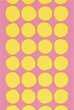 Postcard Maija Isola Marimekko Design: Kivet,1956 Yellow Dots MINT