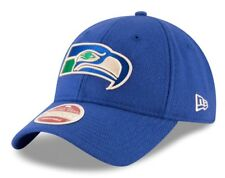 "Seattle Seahawks New Era NFL 9Twenty Historic ""Team Front"" Adjustable Hat"
