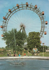 VIENNA, Austria, 50-70s; The Prater and the Giant Wheel