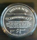 Punisher 2nd Amendment 1 oz .999 Silver Guns AR15 3 Percenter Donald Trump NEW