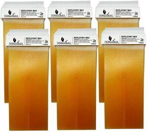 Dermawax Roll-on Honig Wachspatronen Warmwachs zur Haarentfernung Enthaarung