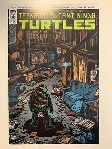 IDW TEENAGE MUTANT NINJA TURTLES #55 SUB COVER : NM CONDITION
