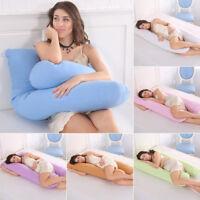 U Shape Oversized Comfort Full Body Support Pillow For Pregnancy Maternity Women