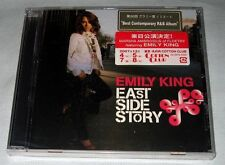 Emily King - East Side Story (2007) USA CD New w/ Japanese Sticker FREE SHIPPING