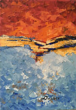 Original Art Oprina-Felicia Dolea - Oil Painting 5x7 in_# 603