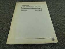 1999 Volkswagen VW Golf GTI Jetta Transmission 096 Shop Service Repair Manual