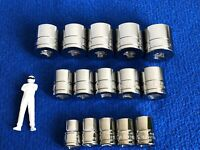 """Blue Point 3/8""""dr Shallow Socket Set - Metric10mm 24mm sold by Snap On BRAND NEW"""