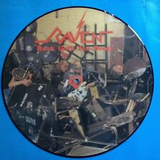 """Raven-Rock Until You Drop-12"""" Picture Disc-1981 UK  Neat  UNPLAYED"""