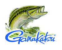 GAMAKATSU STICKER DECAL BASS FISHING REEL LABEL VINTAGE TACKLE BOX TOOLBOX USA