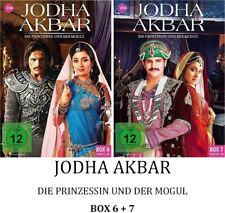 Jodha Akbar - Die Prinzessin und der Mogul - Box 6 + 7, 2x3 DVD NEU + OVP!