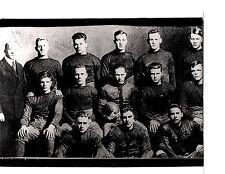 1918  NOTRE DAME 8X10 TEAM PHOTO  ROCKNE LAMBEAU GIPP  FOOTBALL IRISH INDIANA