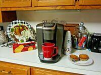 Keurig K-Cup Pod Coffee Maker Single Serve K-Elite K90 Brushed Gray