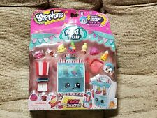 New Shopkins Food Fair Candy Collection - 8 exclusive with pick 'n' mix showcase