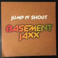 "BASEMENT JAXX - Jump N' Shout - 12"" vinyl single UK XLT116 XL 1999 VG+/VG+"