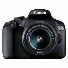 Canon EOS 2000D (Rebel T7) DSLR Camera + 18-55mm III Kit (International Model)