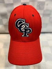 CCP Red Blue Logo Fitted XL Adult Baseball Ball Cap Hat